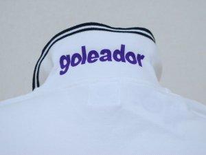 画像4: goleador 鹿の子フロッキープリントポロシャツ ホワイト