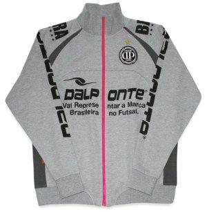 画像1: DalPonte ジップアップスウェットシャツ GRY