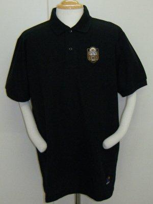 画像1: SPAZIO YMCポロシャツ ブラック