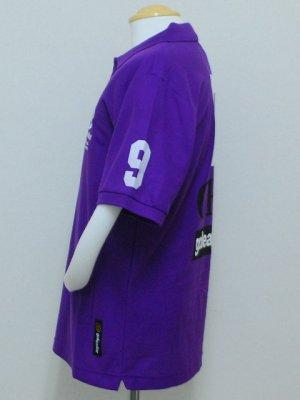 画像3: goleador 鹿の子No.9ポロシャツ パープル