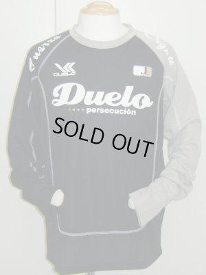 画像1: DUELO スティッチプラクティスシャツ ブラック
