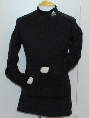 画像1: adidas ウォームコンプレッションインナーシャツ ブラック