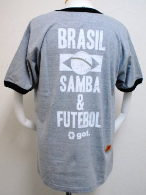画像2: gol. BRA半袖Tシャツ GRY