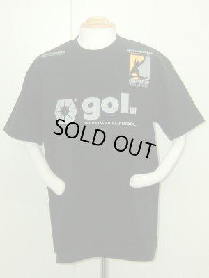 画像1: gol. キャプテン翼コラボTシャツA ブラック