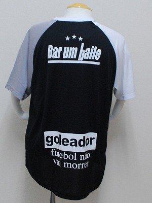 画像2: goleador クレイジーパターンプラシャツ ブラック×ホワイト